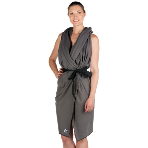 LOTalife Beach Cape Dark Grey